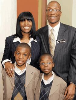 Champion family portrait