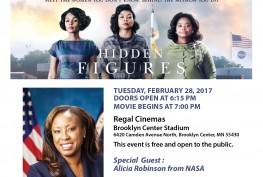 hidden figures movie event
